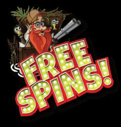 free spins voor een registratie